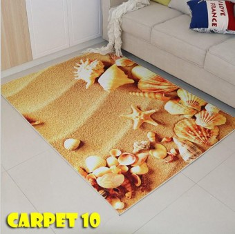 3D Carpet floor mat/Tatami Carpet/Karpet/Toto/ Rug/ Water Proof Soft Velvet /Bedroom [Ready stok] Dr