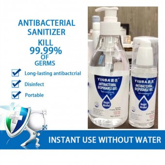 [READY STOK] Anti Bacterial Disposable Hand Sanitizer Hand Disinfection Gel Quick-Dry Handgel 75