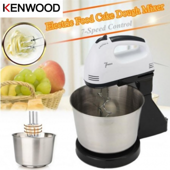 KENWOOD Double Beater 7 Speed Hand Stand Mixer 2.5L Bowl w/ Stainless Steel Mix & Whisk Beater Bakin